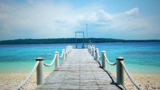 Bokissa Private Island Resort: The jetty