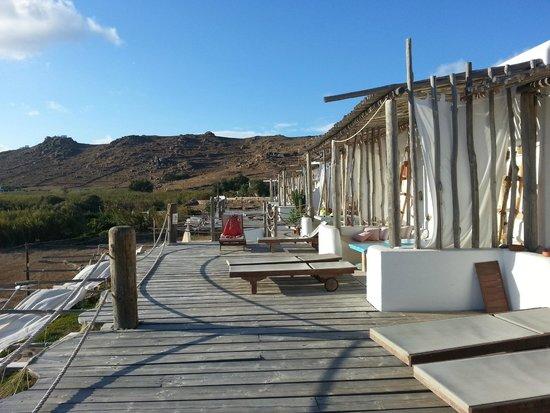 Seaside Studios & Houses: studios deck