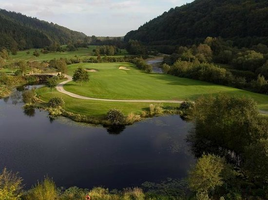 Woodenbridge Golf Club: 11th Hole Par 3, Looking the valley