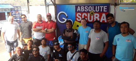 Absolute Scuba Bali: The Absolute Gang !