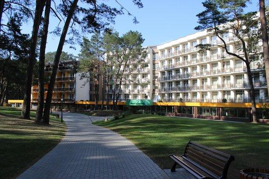 Medical SPA Eglės Sanatorija Birštonas : корпус