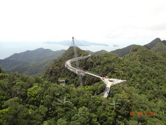 Sky Bridge de Langkawi: Wonderfull suspension bridge