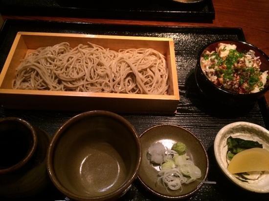 Yamaboshi : おそばと穴子小丼