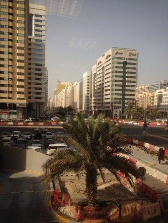 City Seasons Al Hamra Hotel Abu Dhabi: The view outside the gym