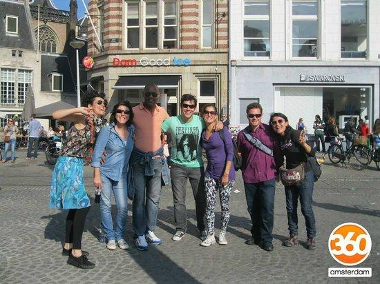 360 Amsterdam: Amsterdam Famous City Walk con Aurora ;)
