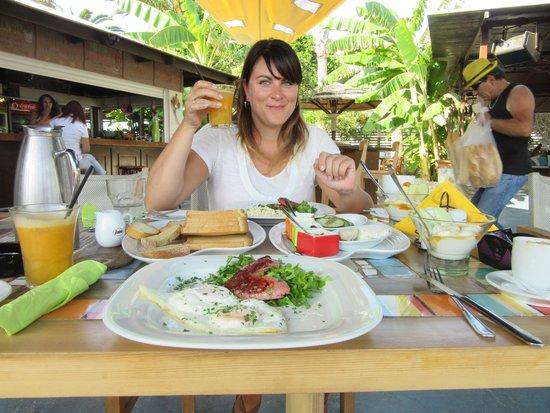 King Size Beach Bar : Heerlijk ontbijt!