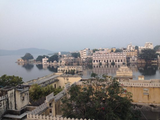 Mewar Haveli: View from our room