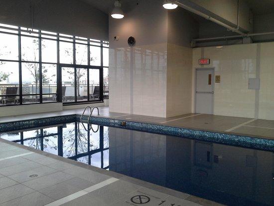 Hilton Garden Inn Montreal Centre-ville : Pool Area