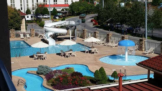 Music Road Resort Inn : Pools were very clean and inviting!