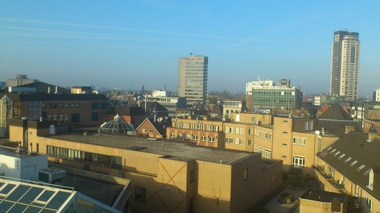 Hampshire Hotel - Crown Eindhoven: The view from my room - floor 7