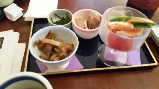 Temari Japanese Cafe: Appetizer to lunch special