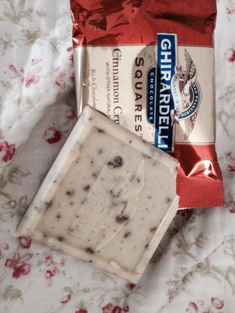 Ghirardelli Ice Cream & Chocolate Shop: My favorite chocolate cinnamon crunch