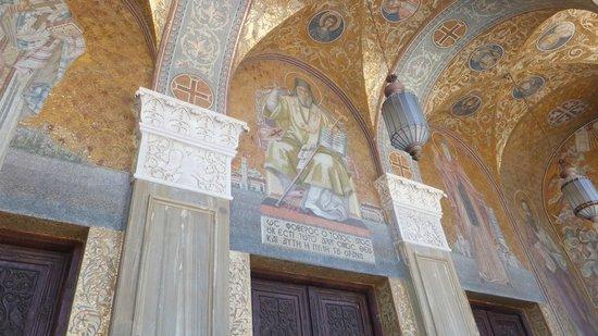 Agios Dionisios (St.Denis) Church: Outer art