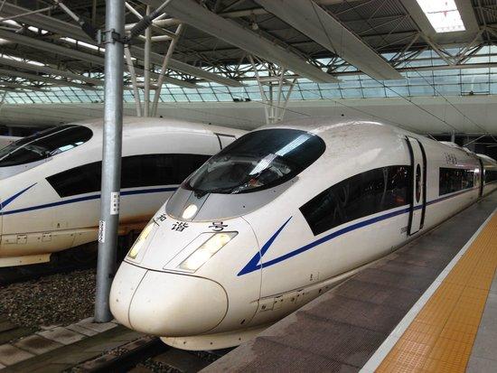 Shanghai Hongqiao Railway Station: 車両
