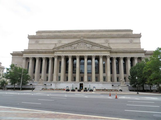 The National Archives Museum: They do not allow pictures inside the building