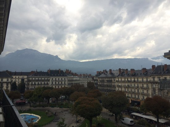 Hotel d'Angleterre: View from the window