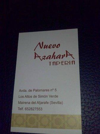 Nuevo azahara taperia mairena de aljarafe fotos n mero for Telefono oficina seur mairena del aljarafe