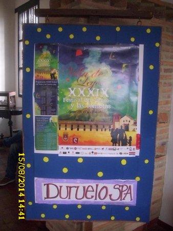 Hospederia Duruelo : En la Recepción del Hotel.