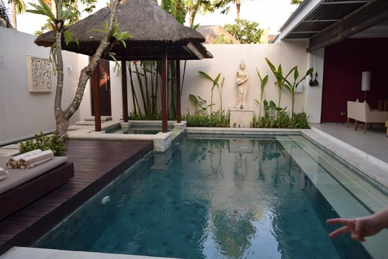 Chandra Luxury Villas Bali: Pool