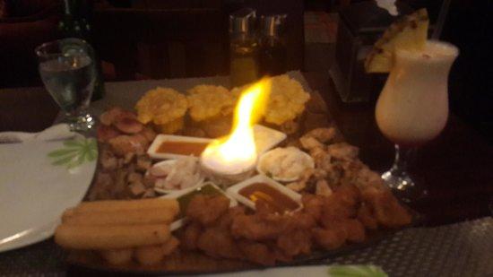 Restaurant Baru: riquísima...