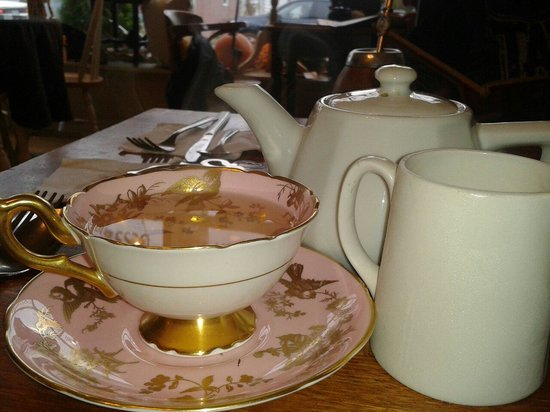 Devonshire Guest House & Spa : Mmm delicious tea at Tintengels.