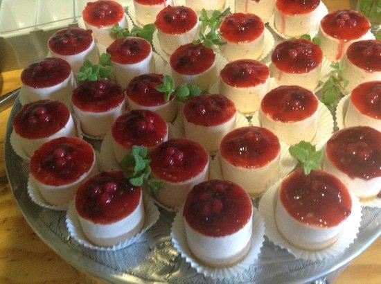 Koornlands Restaurant: Berry Cheesecake