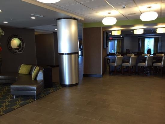 Fairfield Inn & Suites Amarillo Airport: zona colazione e reception