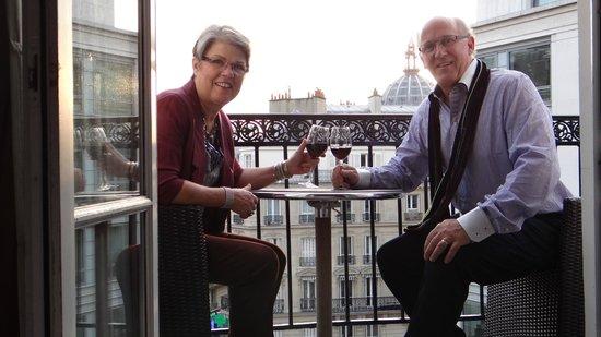 Hotel WO - Wilson Opera: Room 503: Best open balcony room