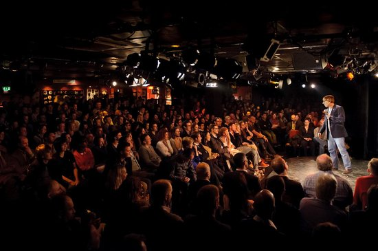 Nestling in the heart of London's West End, The Comedy Store is the city's busiest comedy venue with over people passing through its doors every week!