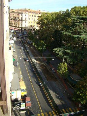 Hotel Orazia: Desde la ventana