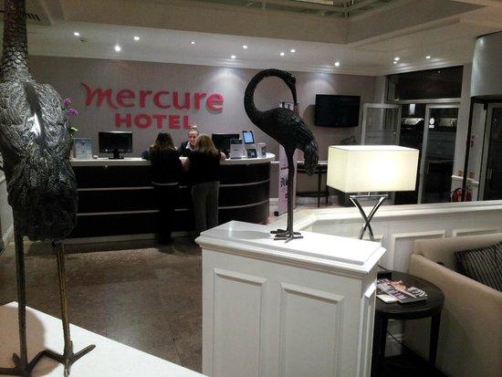 Mercure London Kensington: Hert onthaal.