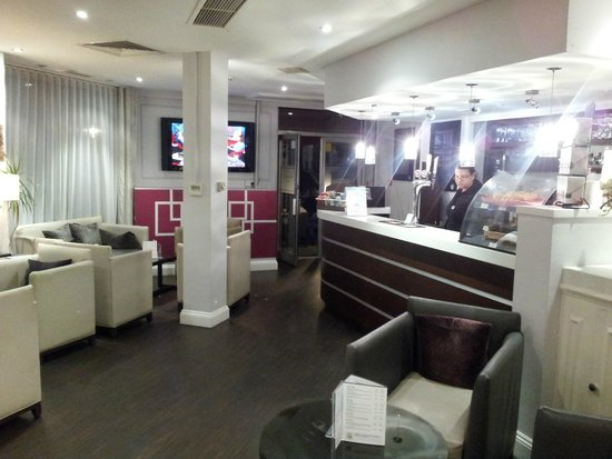 Mercure London Kensington: De lounge