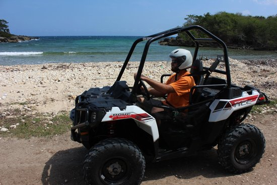 Discovery Bay, Jamaica: ATV Buggy at CHUKKA