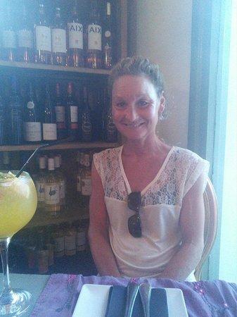 Restaurante DiMi s: Lucy-Ann at Dimi's...