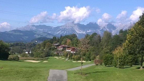 Grand Tirolia Kitzbuhel: Golfplatz