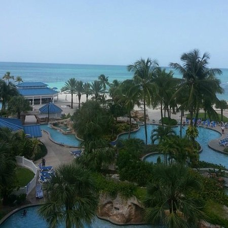 view from our room picture of melia nassau beach all. Black Bedroom Furniture Sets. Home Design Ideas