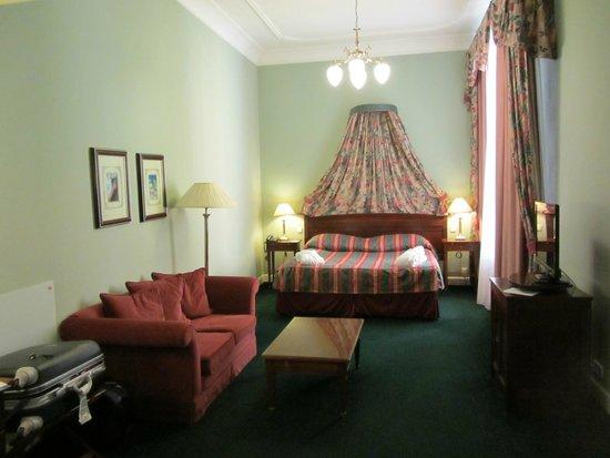 Hotel Liberty: una parte della camera