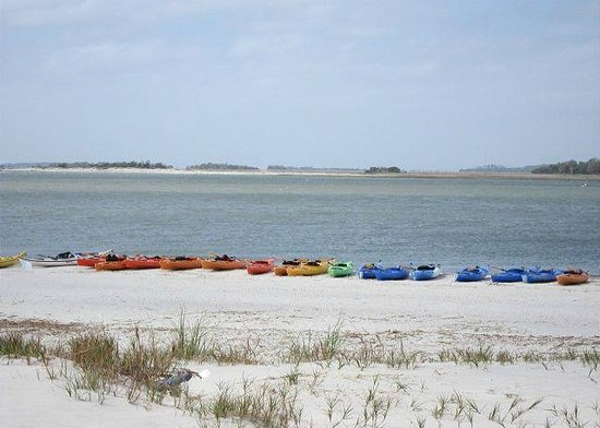 Tybee Cottages: South Inlet View