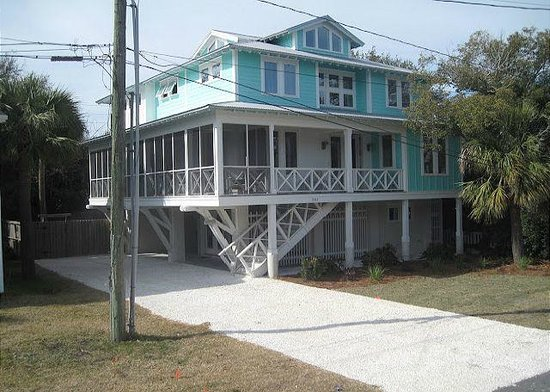 Tybee Cottages: 1507 2nd Ave - Fitz Us Fine