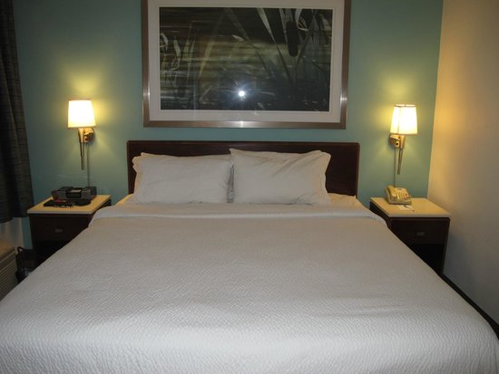 SpringHill Suites Tarrytown Greenburgh: Really comfortable bed