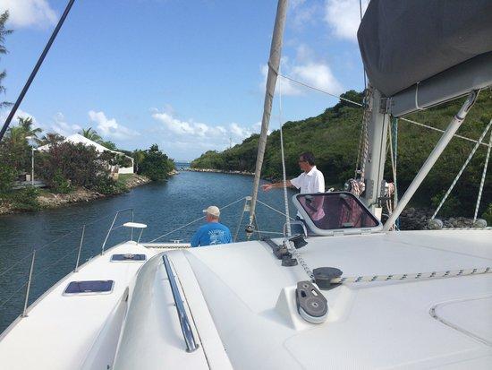 St Martin Catamarans Charters: On the Catamaran