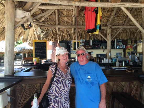 St Martin Catamarans Charters: We are the happy couple!