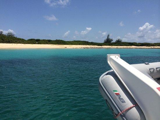 St Martin Catamarans Charters: Beautiful scenery!