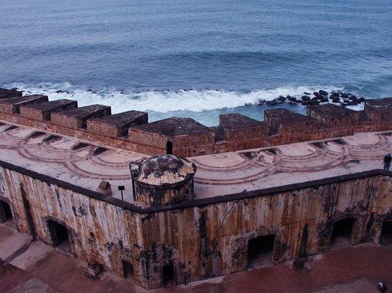 Fortín de San Gerónimo del Boquerón: Fort, Top