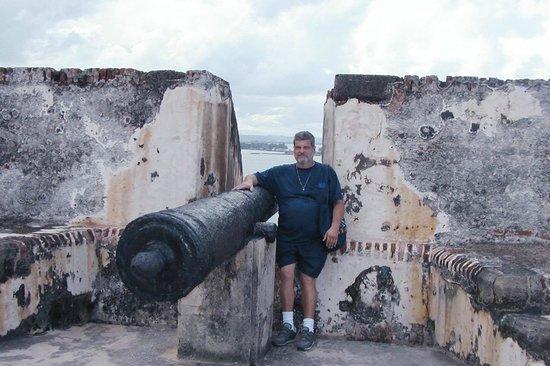 Fortín de San Gerónimo del Boquerón: Fort, Walter by cannon