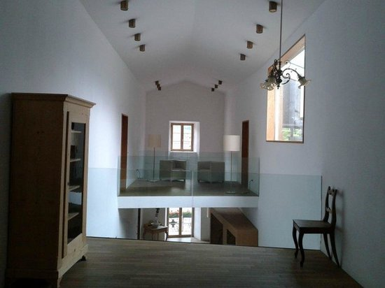 Soppalco nel corridoio delle camere - Bild von Hotel Grüner Baum ...
