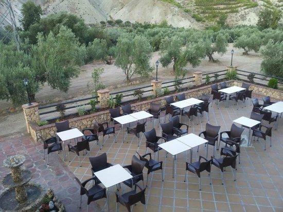Terraza Exterior Para Eventos Fotografía De Restaurante