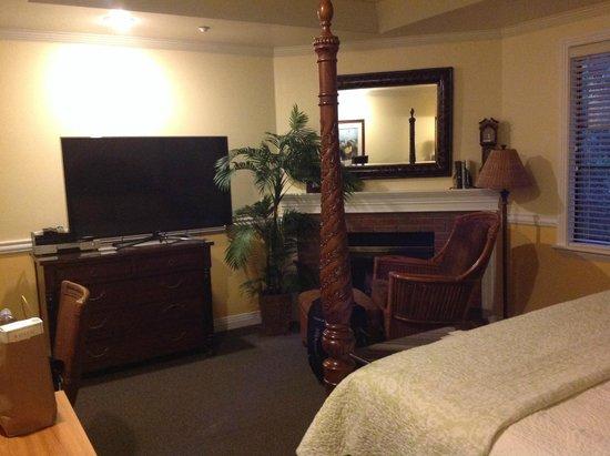 San Luis Creek Lodge: Quarto aconchegante