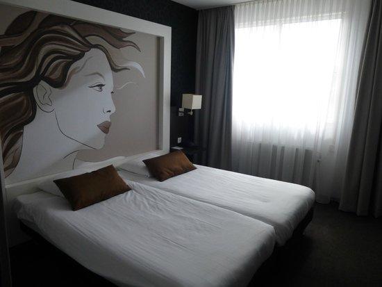 Apollo Hotel Breda City Centre : comfortabele moderne slaapkamer