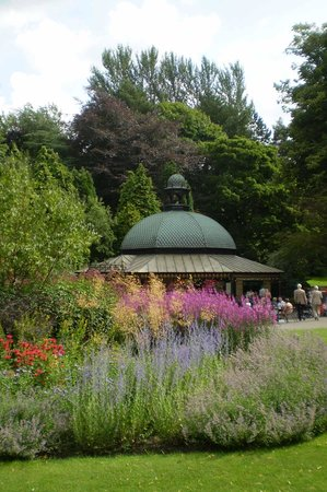 Valley Gardens: Magnesia Well cafe (late summer)